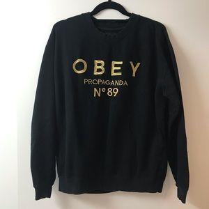 OBEY Propaganda crew neck sweater